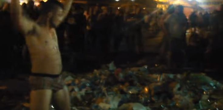 'Golem śmieciowy'. Tak się bawi nowoczesna młodzież na festiwalu Owsiaka! - zdjęcie