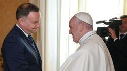 Prezydent Andrzej Duda na audiencji u papieża Franciszka - miniaturka
