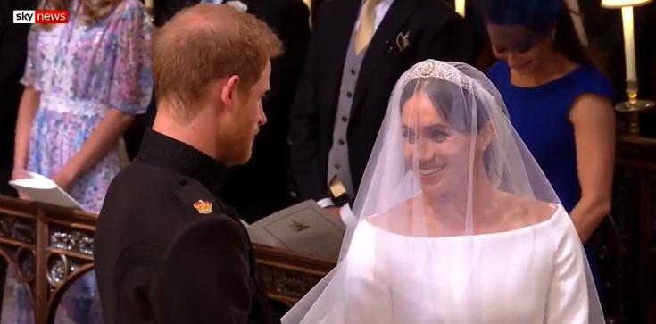Książę Harry poślubił Meghan Markle - zdjęcie