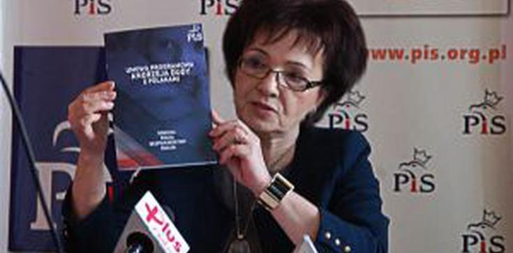 Elżbieta Witek dla Fronda.pl: Komorowski nadal jest rozgoryczony i nie potrafi pogodzić się ze swoją klęską - zdjęcie