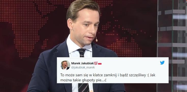 M. Jakubiak ostro o Bosaku: ,,Jak można tak pier***ić'' - zdjęcie