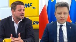 Trzaskowski chce wykorzystać białoruską opozycję do partyjnych gierek. Jest komentarz szefa KPRM - miniaturka