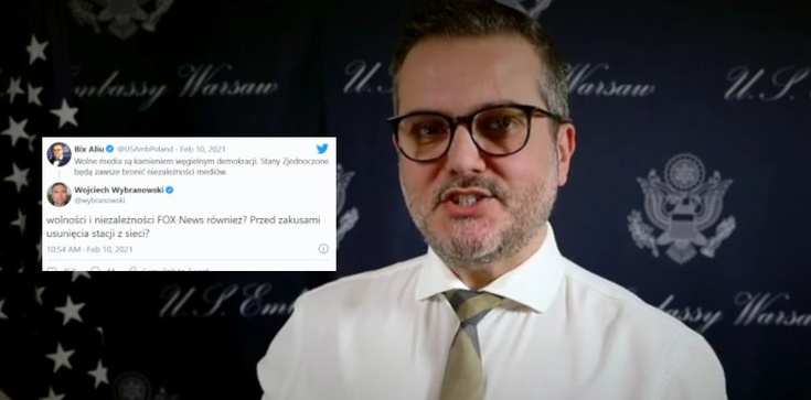 Zagranica zabrała głos. Amerykański dyplomata chce bronić polskich mediów  - zdjęcie