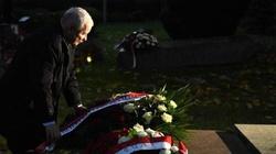 Prezes PiS złożył kwiaty przed grobem bł. ks. Popiełuszki  - miniaturka