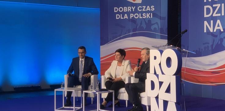 Dobry czas dla rodzin. Trwa konwencja PiS w Łodzi - zdjęcie