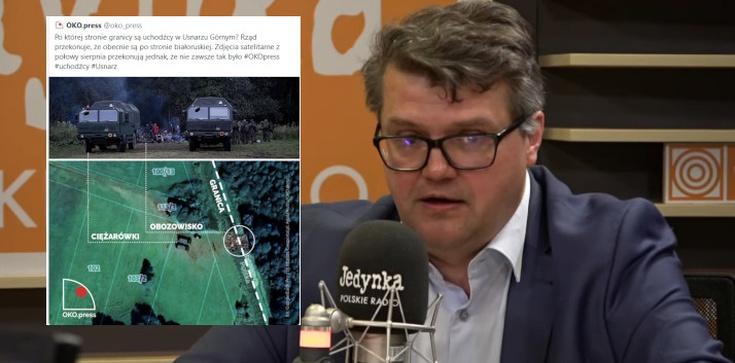 ,,Ziemia niczyja''? Wiceminister Wąsik prostuje manipulacje oko.press - zdjęcie