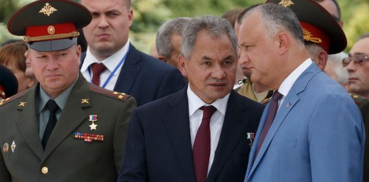 Misja Szojgu. Mołdawia głębiej w objęciach Rosji - zdjęcie