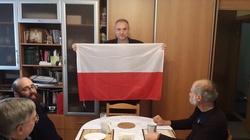 Andrzej Duda wysłał polską flagę jezuitom na Syberii - miniaturka