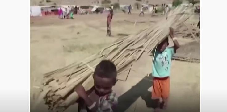 Dramat erytrejskich uchodźców w Etiopii - zdjęcie