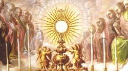 Eucharystia jest dla wierzących - brak wiary wyklucza z eucharystii - miniaturka