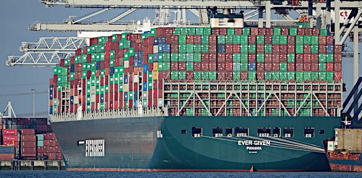Statek, który zablokował Kanał Sueski został skonfiskowany - zdjęcie