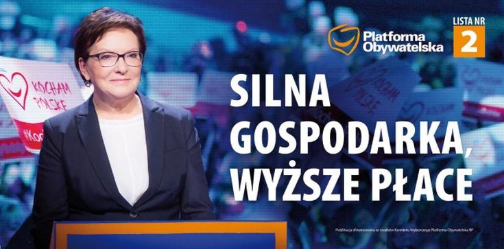 Nowe hasło wyborcze PO i stare obietnice  - zdjęcie