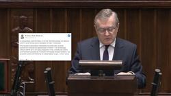 Prof. Gliński ripostuje ,,Newsweeka'': Honor u was nie istnieje  - miniaturka