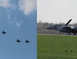 Kilkadziesiąt amerykańskich myśliwców przyleciało do Polski - miniaturka