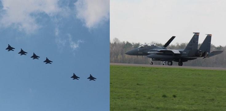 Kilkadziesiąt amerykańskich myśliwców przyleciało do Polski - zdjęcie