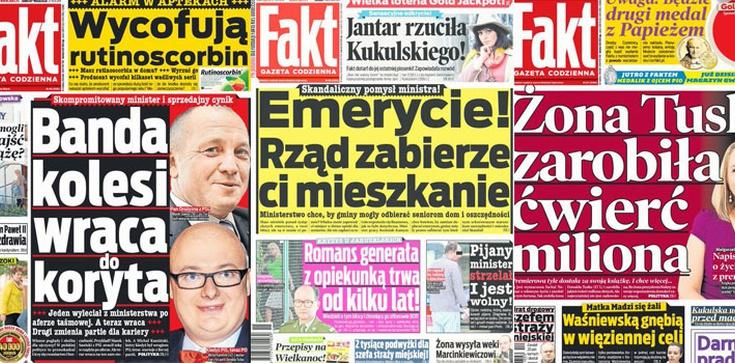 Wolność mediów za Platformy. Fakt krytykował rząd, to sprzątnęli naczelnego - zdjęcie