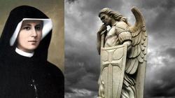 Św. s. Faustyna o Archaniele Michale: Widziałam tego Wodza przy sobie! - miniaturka