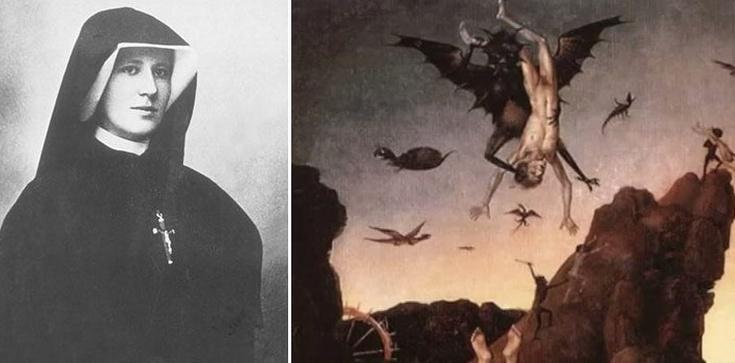 Z Dzienniczka św. Faustyny: Wizja piekła i męka człowieka! - zdjęcie