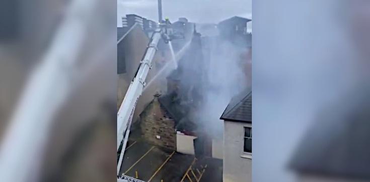 W Glasgow spłonął kościół św. Szymona. Był duchowym centrum szkockiej Polonii - zdjęcie