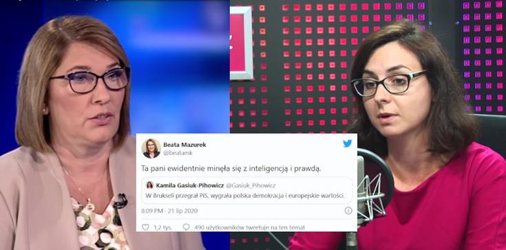 Beata Mazurek bezlitosna dla Gasiuk-Pihowicz: ,,Minęła się z inteligencją'' - zdjęcie