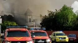 Znaki czasów: Erupcja wulkanu na La Palmie. Lawa pochłonęła kościół - miniaturka