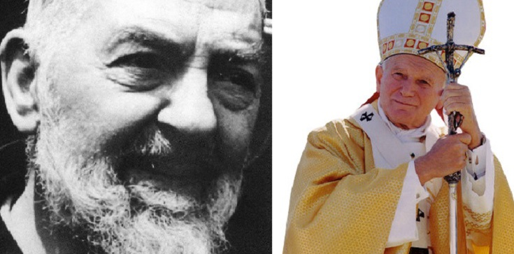 Nie tylko jedno spotkanie. Nowe fakty na temat św. Ojca Pio i św. Jana Pawła II - zdjęcie