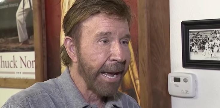 Chuck Norris o szaleństwie aborcji: Dla ludzi gorsze od zabicia dziecka jest używanie plastikowej słomki - zdjęcie