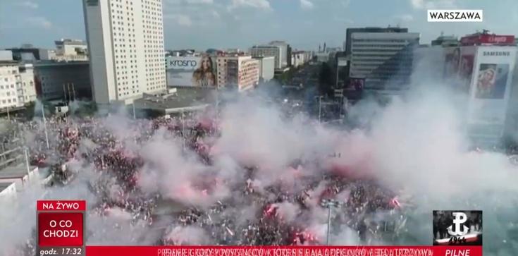 Godzina ,,W',. O Powstańcach pamiętała cała Polska [ZDJĘCIA] - zdjęcie