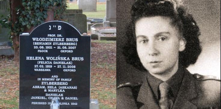 Stalinowscy oprawcy: Helena Wolińska-Brus, dawniej Fajga Mindla Danielak - zdjęcie
