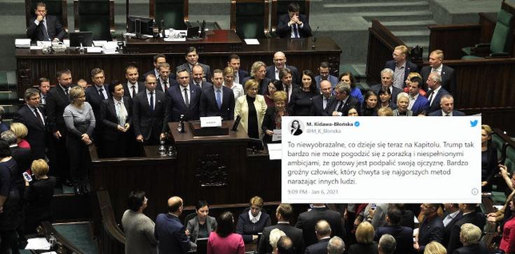 Radosław Fogiel: Zabawne jest oburzenie opozycji, która sama okupowała parlament  - zdjęcie
