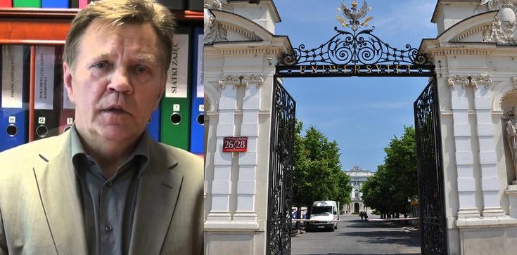 Prof. St. Filipowicz: Uniwersytet jest w kryzysie, gdy nie daje pracy - zdjęcie