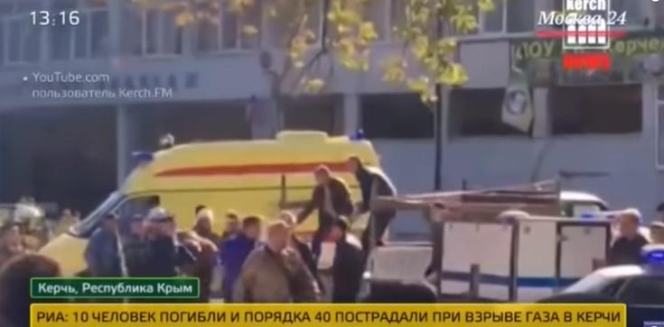 Zamach w szkole na Krymie. Wielu zabitych i rannych - zdjęcie