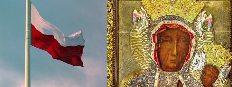 Matka Boża ogłosiła się Królową Polski! Maryjo, Królowo Polski, módl się za nami!
