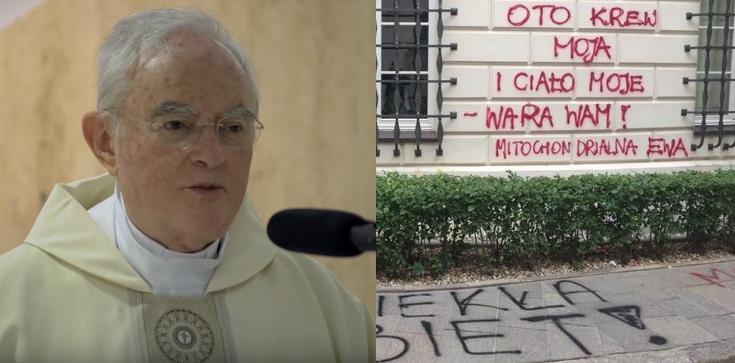 Abp Henryk Hoser o bluźnierczym, feministycznym wandalizmie: Mobilizują się siły zła! - zdjęcie