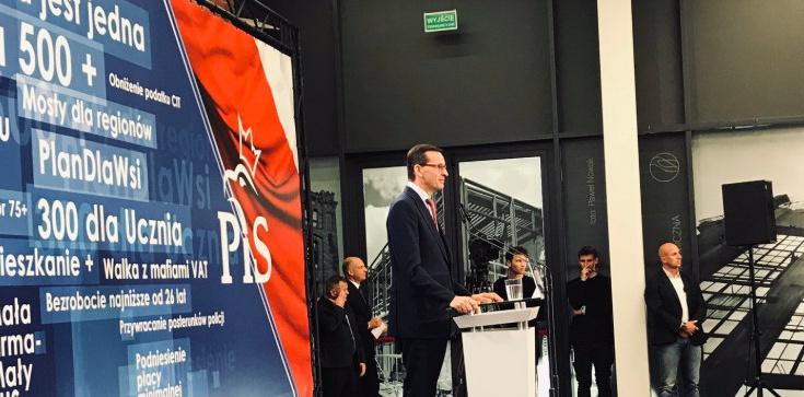 Premier Morawiecki: Chcemy przywrócić Łodzi jej przemysłową tożsamość - zdjęcie