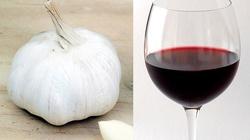 Czerwone wino czosnkowe - zarazki tego nienawidzą - miniaturka