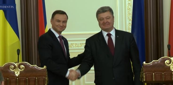 Duda rozmawiał z Poroszenką - zdjęcie