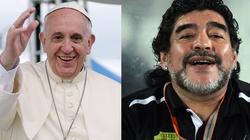 Maradona na zaproszenie papieża Franciszka zagra w Rzymie! - miniaturka