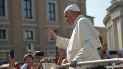 Papież modlił się w języku Jezusa - miniaturka