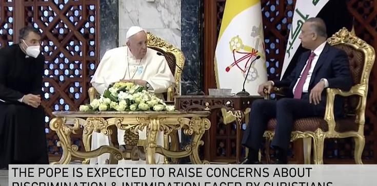 Franciszek w Iraku mówił dziś o Janie Pawle II i wspólnej modlitwie o pokój - zdjęcie