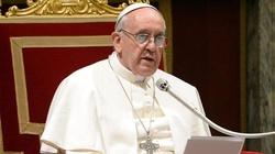 Franciszek apeluje do Europy: Człowiek nie jest panem życia! - miniaturka