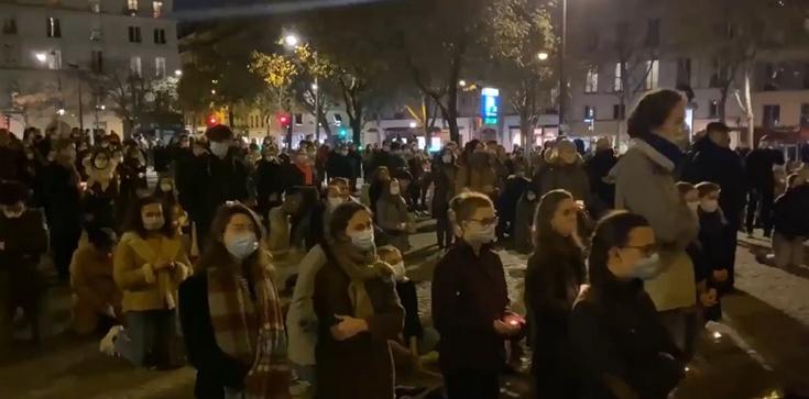 We Francji tak jak w Anglii katolicy zaczynają schodzić do podziemia [Wideo] - zdjęcie