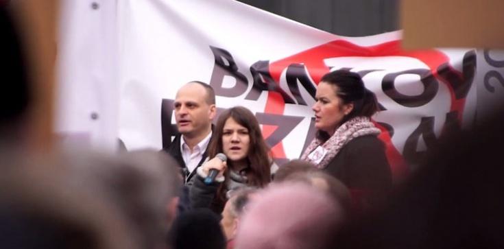 W Warszawie protestowali frankowicze - zdjęcie