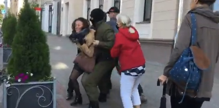 Reżim Łukaszenki zaostrza kurs wobec demonstrantów - zdjęcie