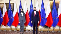 Premier po spotkaniu z Cichanouską: Będziemy solidarnie wspierać Białoruś  - miniaturka