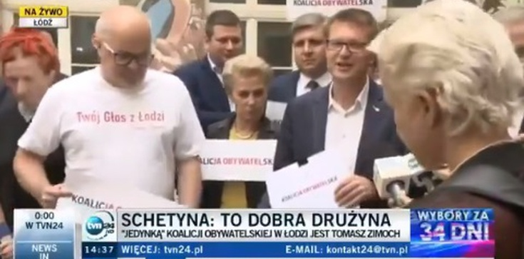 Chcą rządzić Polską, nie potrafią przedstawić list... Opozycyjny kabaret w Łodzi - zdjęcie