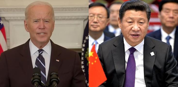 Biden łagodzi stosunki z Chinami? ,,Rywalizacja nie zamieni się w konflikt''  - zdjęcie