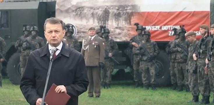 Szef MON nie wytrzymał: WARA od Wojsk Obrony Terytorialnej!!! - zdjęcie