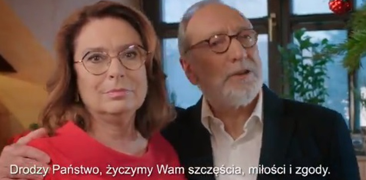 Życzenia z promptera? Internauci bezlitośni wobec Kidawy - Błońskiej - zdjęcie