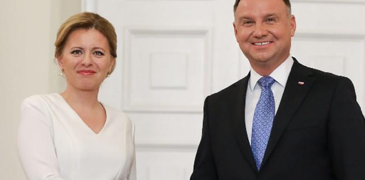 Prezydent Słowacji z oficjalną wizytą w Polsce. Oto, co powiedziała o sądach - zdjęcie